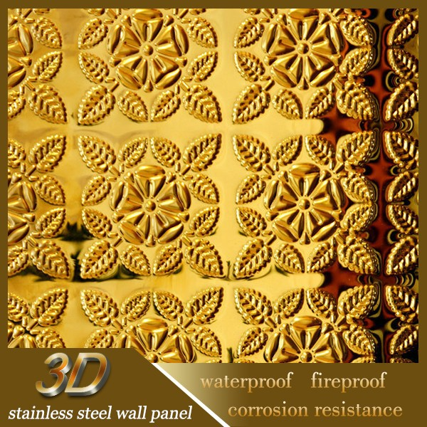 2015 Modern Design Stainless Steel Sheet Wall Cladding Decorative ...