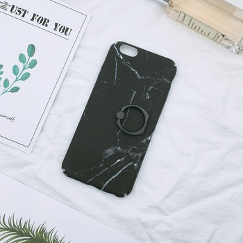 Marble printing fashion cover pc phone case for iphone 6 6s case black marble cute cover