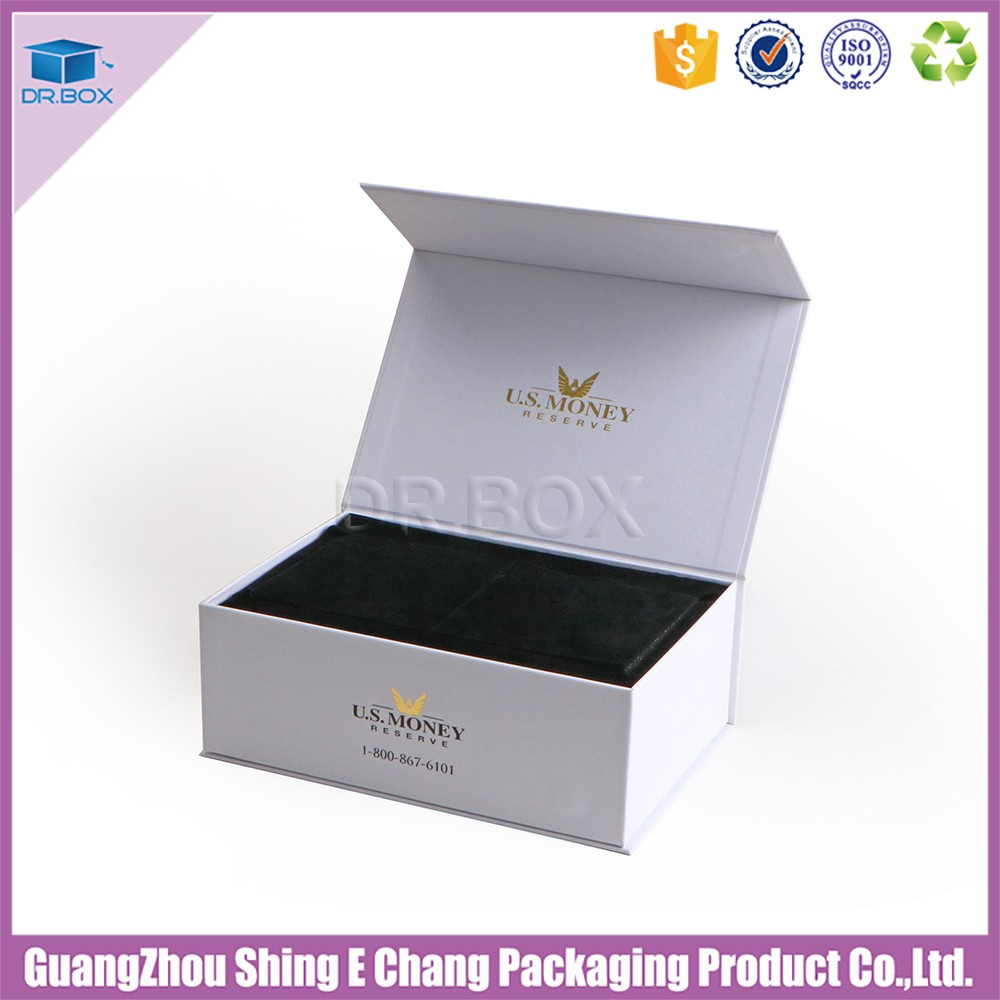 Custom Rectangle Small Card Packaging Paper Gift Box