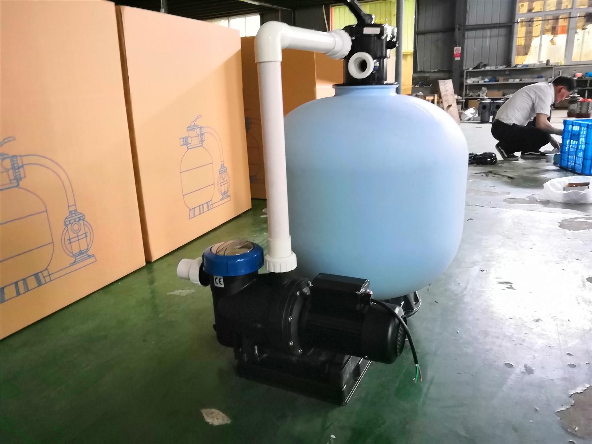 Bocal do filtro de areia/areia filtro para irrigação/aquicultura filtro de areia