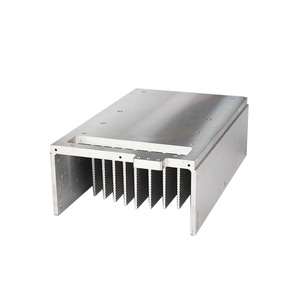 OEM various customized die cast aluminum extruded heatsink with factory direct price