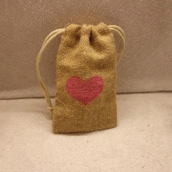 Personalized Small Burlap Bags Rustic Wedding Favor Jute Gift Bag Perosonalized