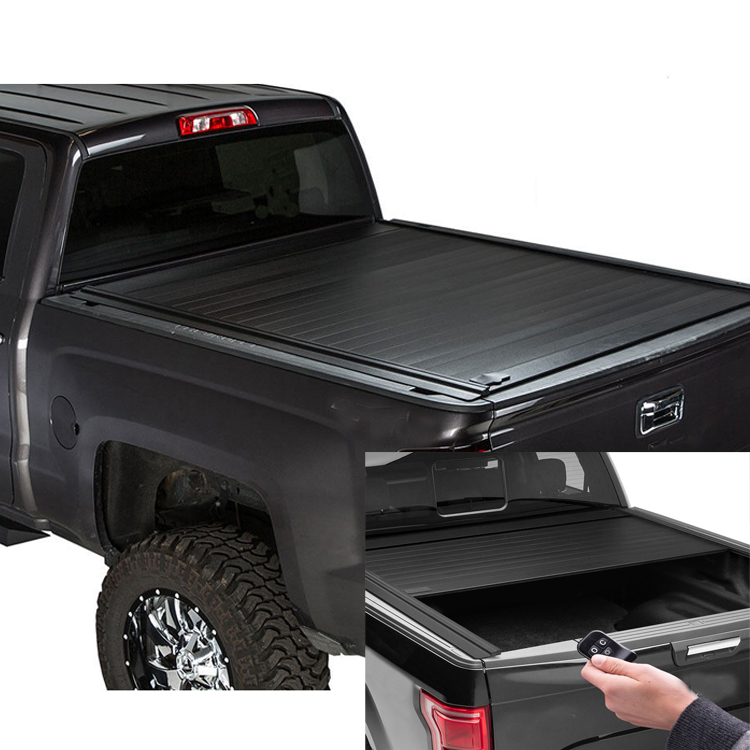 Electric Roll Up Rolling Retractable Truck Bed Cover For For F150