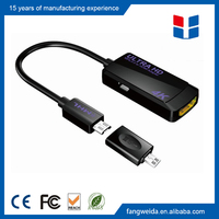 Latest HDCP 2.2 4K HDTV Micro USB to MHL HDMI Adapter Cable