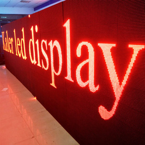 P10 outdoor red color led display board /scrolling message picture led advertisement board /p10 led