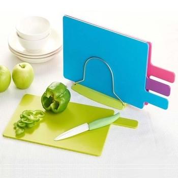 100%Food Grade Plastic Chopping Board Vegetable Cutting Board