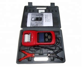 New car battery tester with printer