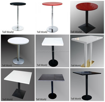 Solid Surface Restaurant Table Chair Coffee Shop Table