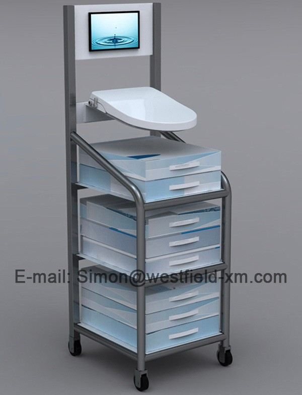 Non Electric Toilet Bidet Seat With Dual Plastic Pussy