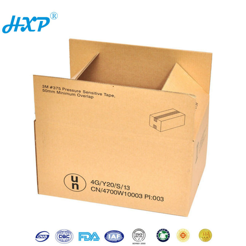 Shipping Box Carton Corrugated Custom Box Printing foldable storage box