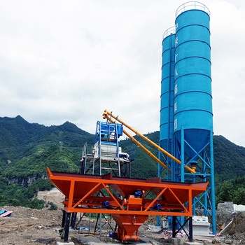 HZS25 China Concrete Batching Plant of High Flexibility