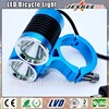 Waterproof Aluminum Alloy 1500lms XM-L2 Led Bicycle Light Rechargeable