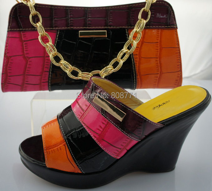 Ladies Shoes Bags Match