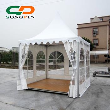 3x3 M Gazebo Jardin Tente Avec Plancher En Bois - Buy Tente Gazebo ...