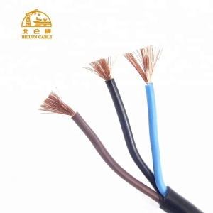 Professional PVC Insulated 3 Core Cable copper wire prices