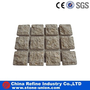 Outdoor kerbing patio blocks paving mesh stone granite