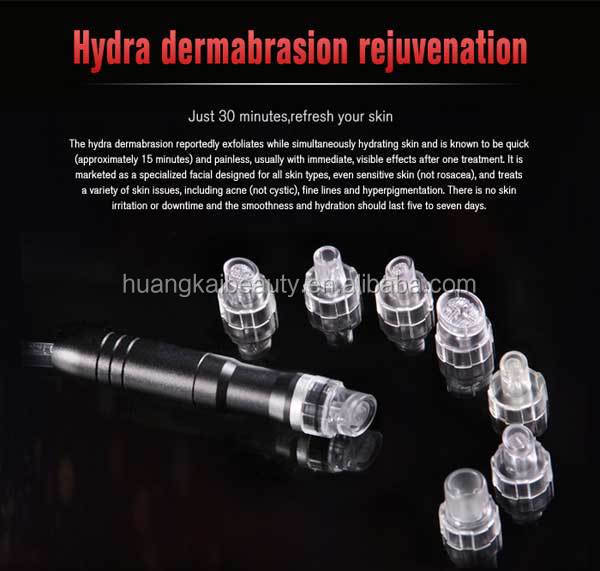 salon use LED PDT Jet Peel dermabrasion multi function machine SPA10 for skin care equipment