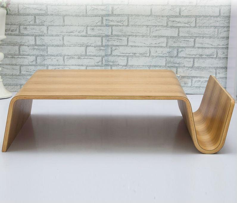 Bending Plywood Coffee Table Low Wooden Tables Modern Product On Alibaba