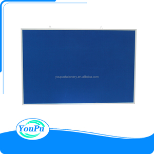 wall mounted felt fabric notice board,aluminium frame