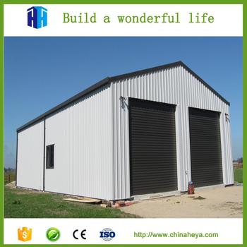 Prefabricated Sandwich Panel Garage Aluminum Storage Units For Sale