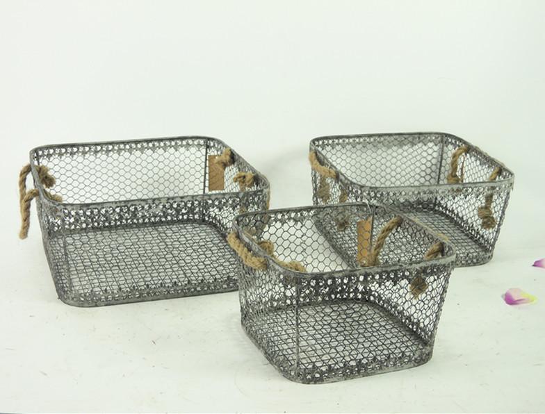 Wholesale Vintage Decorative Kitchen Wire Basket Buy Kitchen .
