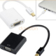 High Speed Gold Plated 1080P Thunderbolt Mini DisplayPort Mini DP to VGA Adapter Converter Cable