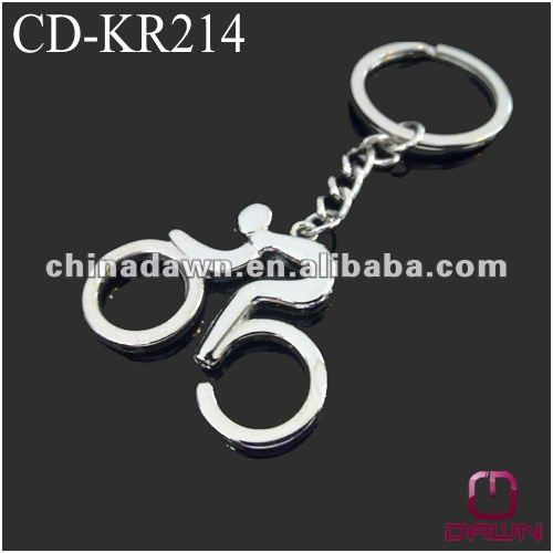 sports meet souvenir gift bicycle keychain CD-KR214