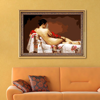 Nude girl woman oil painting hot sex images paint for bedroom