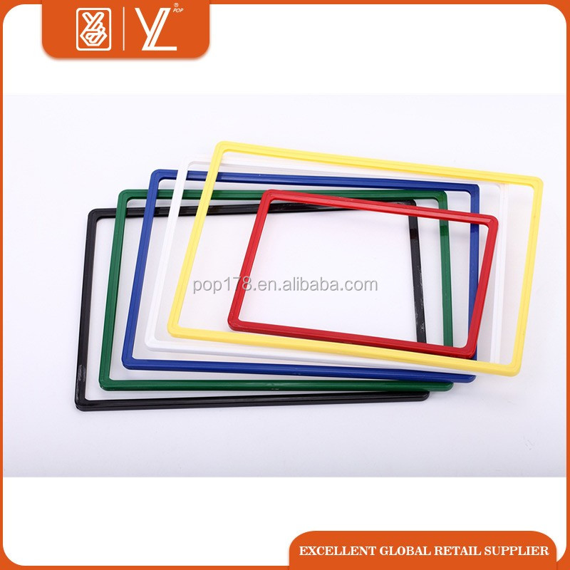 Manufacture colorful plastic poster frames A3 A4 A5 size