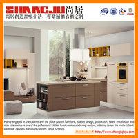 Melamine kitchen Professional design 2014 popular kitchen cabinet depot