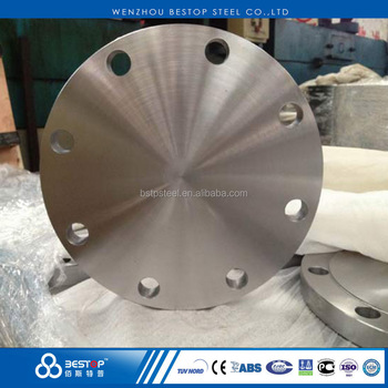 DIN 2527 stainless steel 304 PN25 blind flange
