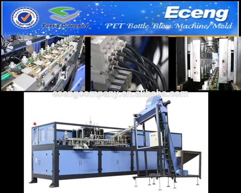 fully automatic plastic pet blowing machines for cans and bottles pet bottels