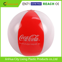 promotional custom design branded beach ball,inflatable beach ball,PVC ball