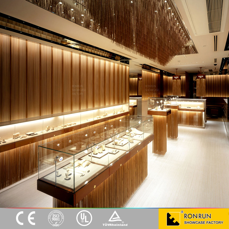 Modern Style Jewellery Showroom Furniture Jewellery