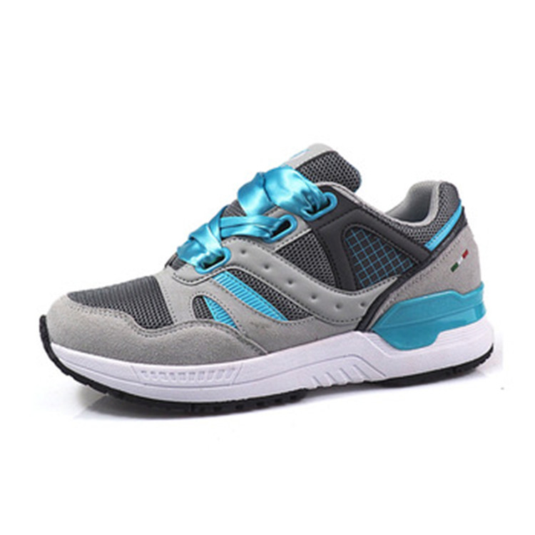 OEM custom ladies sports running shoes thick sole sneakers