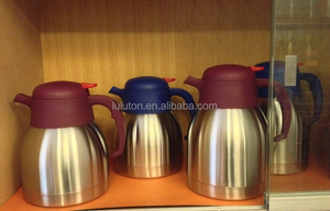Stainless steel air pot flask/air coffee pot/vacuum thermo pot