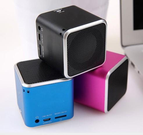 Cool Speaker Boxes cool mini metal cube bluetooth speaker,portable private bluetooth