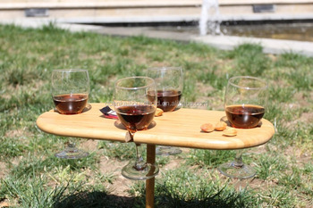 Outdoors High Stakes Bamboo Picnic Table   Buy Bamboo Picnic Table,Serving  Table Tray,Wine Bottle Holder Product On Alibaba.com