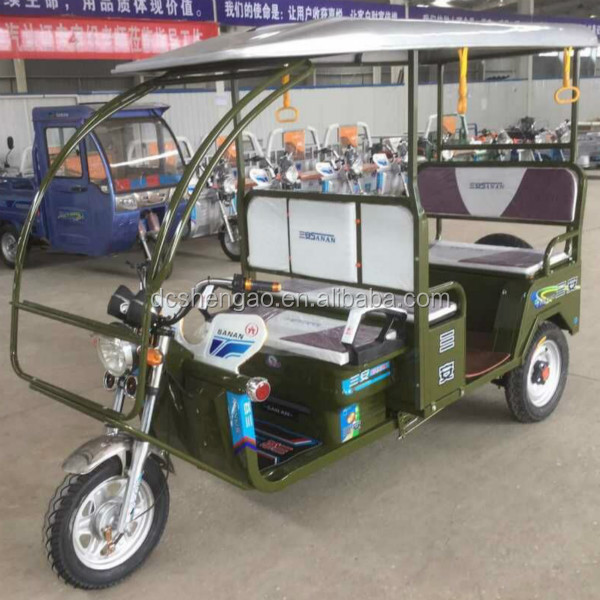 New Indian Auto Rickshaw 3 Wheeler Price For Passenger Use