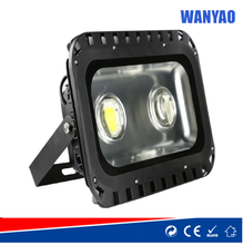 100W IP65 COB led floodlight with lens and lace edge