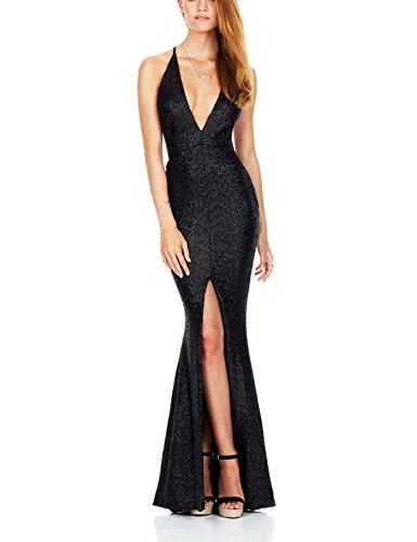732880f1c566 Último Diseñador De Ropa De Fiesta Negro Elegante Sirena Sexy Vestidos De  Fiesta De Mujer Vestido Vestidos De Noche Vestido De Noche Largo - Buy ...