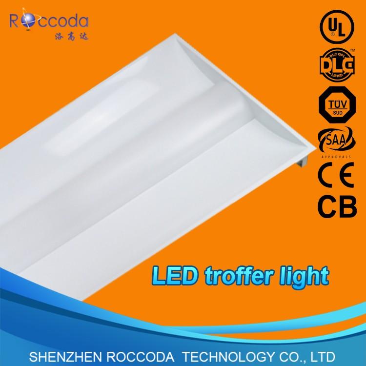 Ul Dlc Crohs Led Troffer 2x2 2x4 Led Indoor Indirect Light Fixture ...