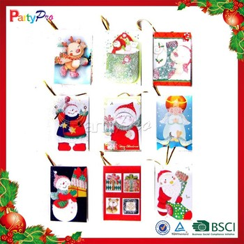 hot sale colorful christmas decorations made in china diy christmas card