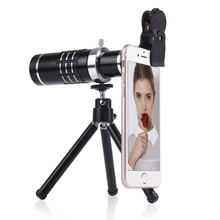 2017 Hot Sale mobile phone camera lens,universal clip 18X optical zoom telescope lens for mobile Phone