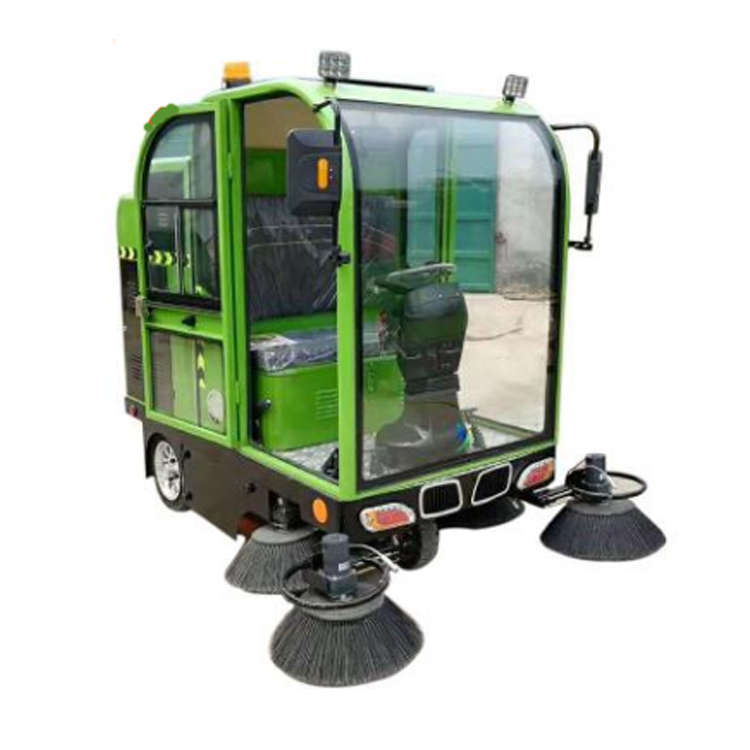 Hot electric road sweeper truck machine for sale