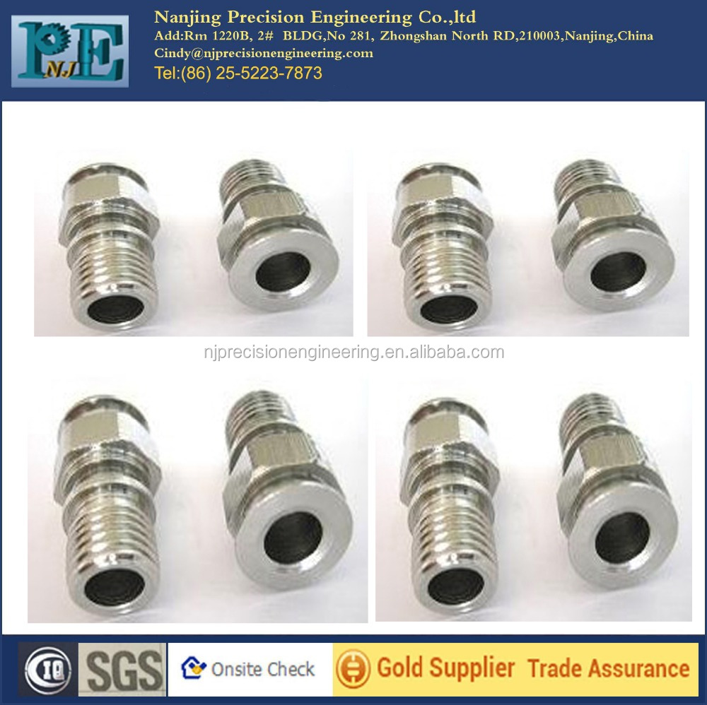 high density of cnc machining stainless steel shaft parts