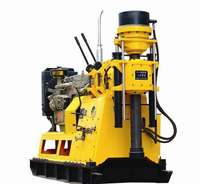 150m Depth tractor mounted water well drilling rig/core drilling machine