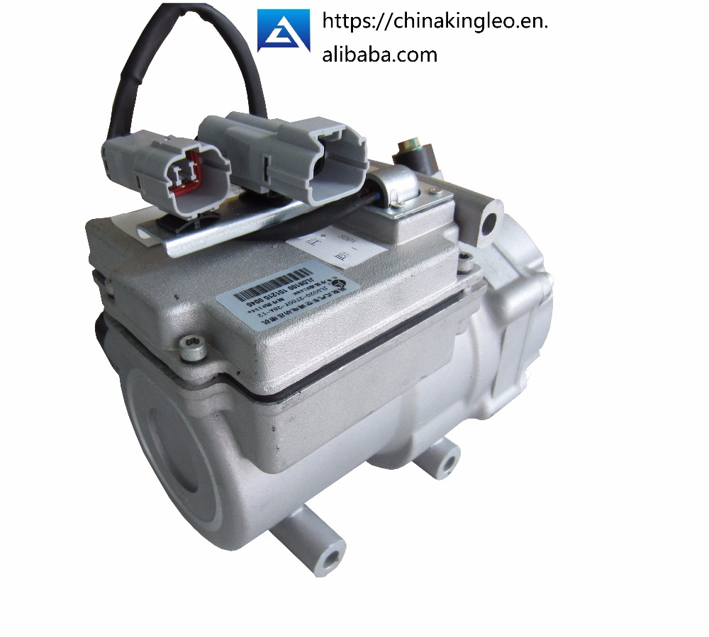 CE scroll R134a 24vdc compressor A/C HAVC refrigeration cooling air condition air conditioner car air conditioning