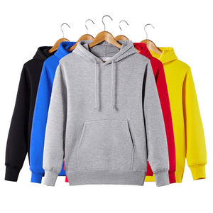 Solid Color Autumn Men's Cotton Sweatershirt 2017 New Wholesale Hoodie Fashion Winter Fleece Hoody with custom LOGO