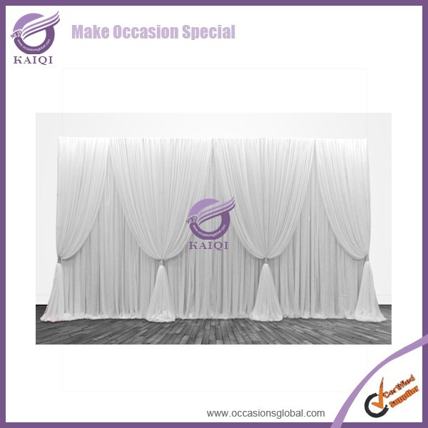 QF18632 factory wedding decoration stage backdrop sequin fabric